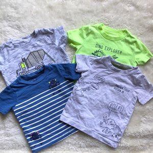 Baby Boy Short Sleeve Tee Shirt Bundle